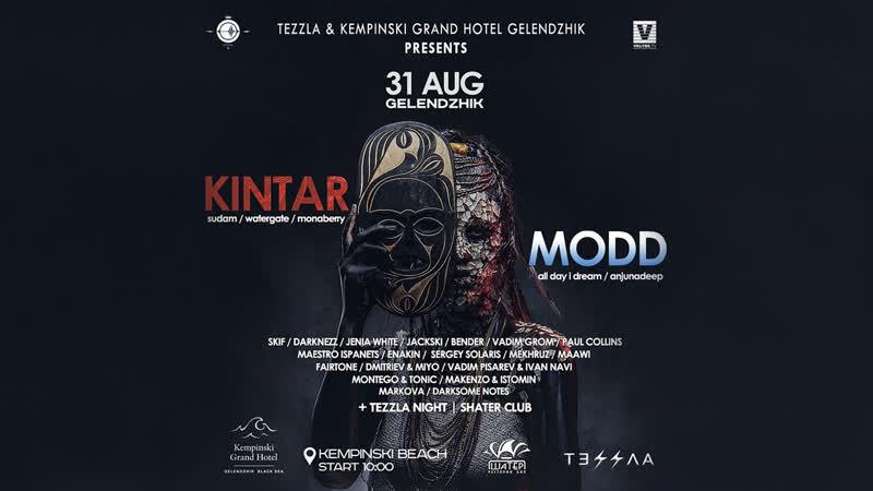 31 08 TEZZLA KEMPINSKI GRAND HOTEL GELENDZHIK KINTAR and MODD LIVE on WoxeRadio