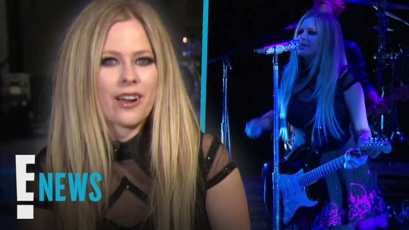 Avril Lavigne - E! News Behind the Scenes of Tour Rehearsal Interview