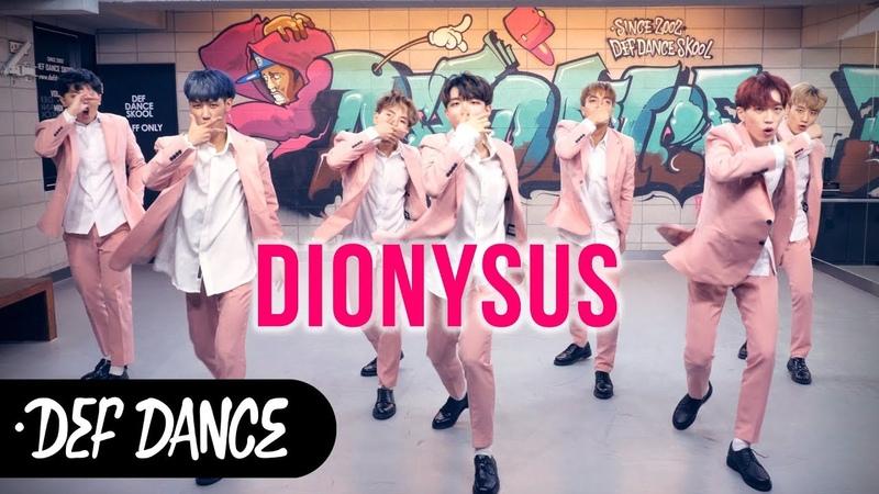 BTS (방탄소년단) - 디오니소스 (DIONYSUS) 커버댄스 No.1 댄스학원 KPOP DANCE COVER 데프월말평가 가49688