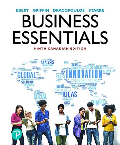 Business Essentials Ninth Canadian Edition
