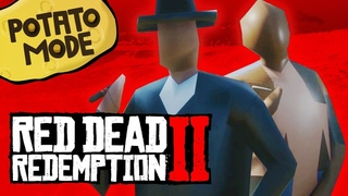 We Completely Destroy Red Dead 2's Beautiful PC Graphics   Potato Mode