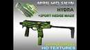 HD MP9 Hydra skin sport Hedge maze
