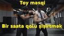 TOY MƏŞQİ - 1 SAATA QOLU ŞİŞİRTMƏK !