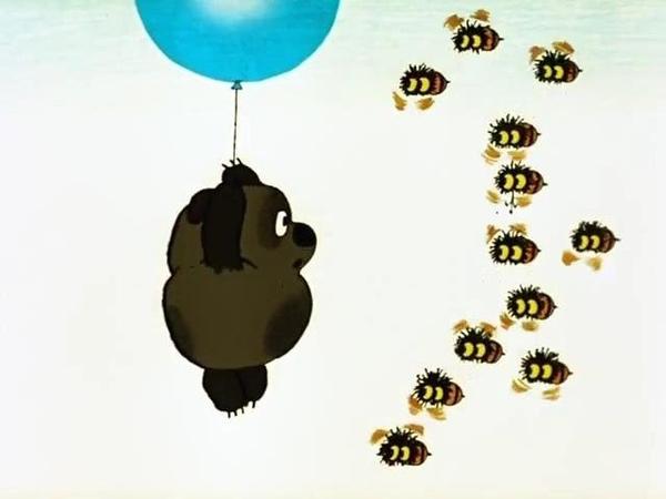 Винни Пух Я тучка тучка тучка я вовсе не медведь смотреть онлайн без регистрации