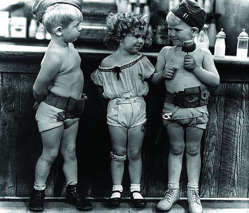 Шоу The Baby Burlesks, 1932 год.
