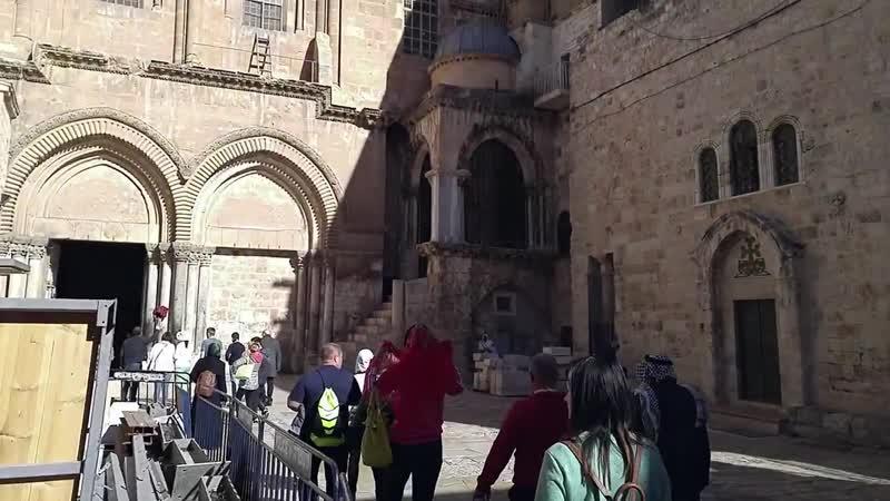 Єрусалим - Храм Гробу Господнього.