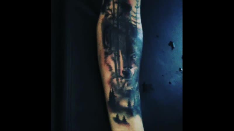 Вах, какая татуировка.