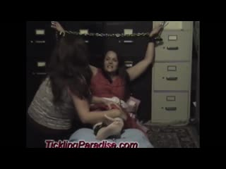 TicklingParadise - Office Tickle ~ Full Video!
