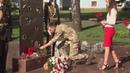 Ранковий церемоніал вшанування загиблих українських героїв 3 липня
