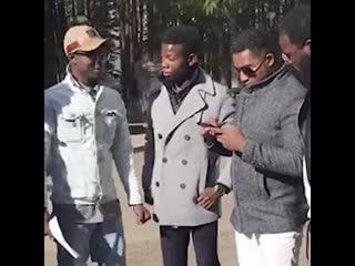 Африканские студенты из уфы обратились к проститутке марии