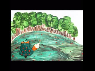 """""""Дятел, лиса и ворона"""" (белорусская сказка), детская студия мультипликации """"Аниматика"""" (г. Сургут)"""