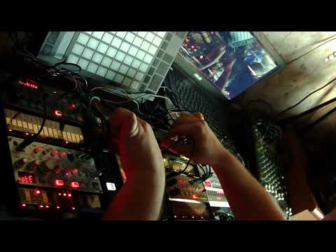 Dj Wadada korg acid techno session 01 04 2019