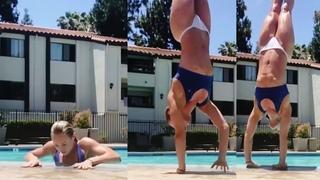 Female Fitness Motivation  Instagram Women Gina Marie, Britt Hertz, Demi Bagby
