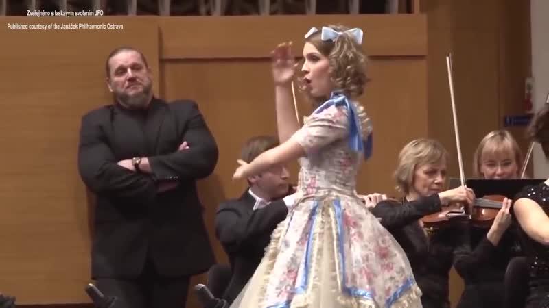 Патриция Янечкова / Patricia JANECKOVA Les oiseaux dans la charmille, Jacques Offenbach, Les contes d Hoffmann