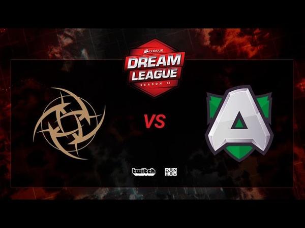 Ninjas in Pyjamas vs Alliance, DreamLeague S12, bo3, game 1 [Jam Mortalles]