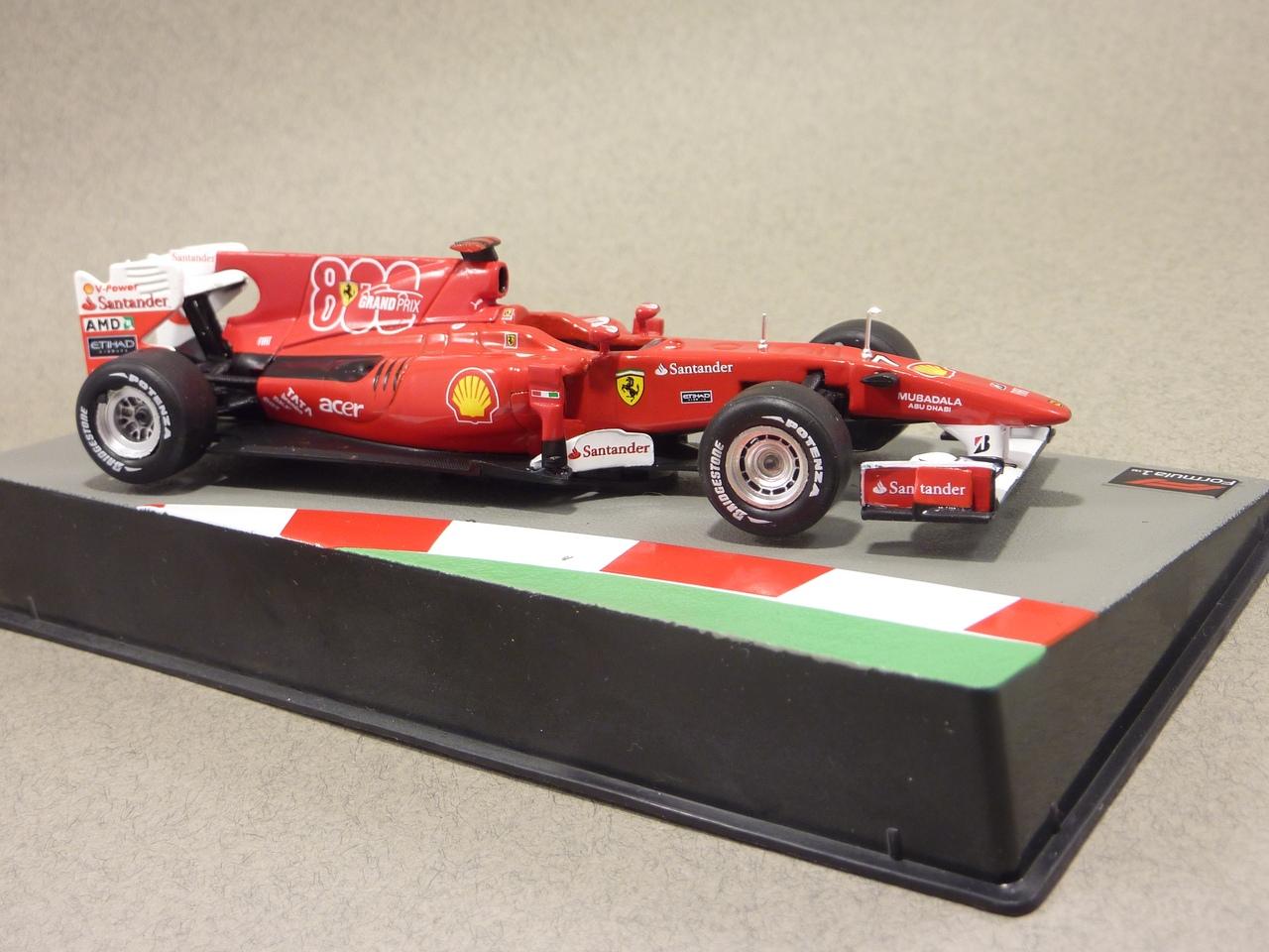 Formula 1 №18 - Ferrari F10 Фелипе Масса (2010)