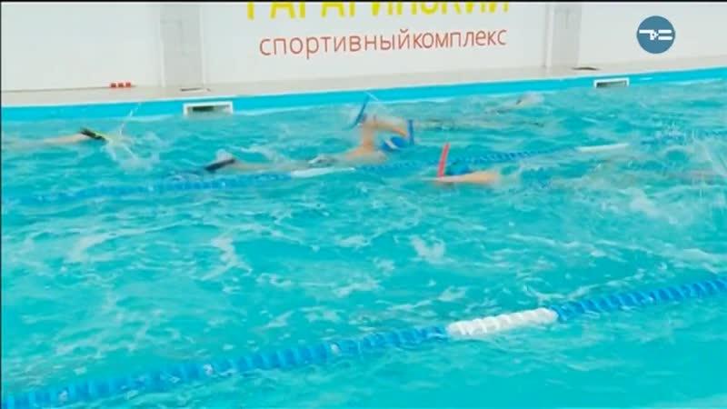 ТВ - Секция подводного плавания для детей