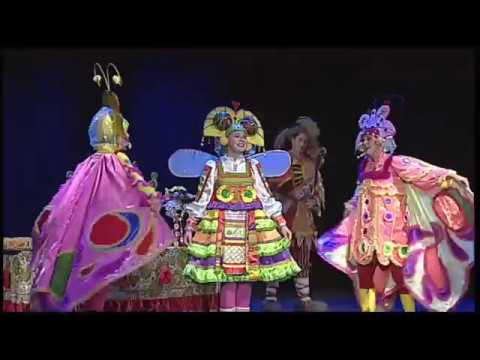 """""""Buzzy-Wuzzy Fly - Bright musical fairy-tale from Siberian theatre (short version)"""
