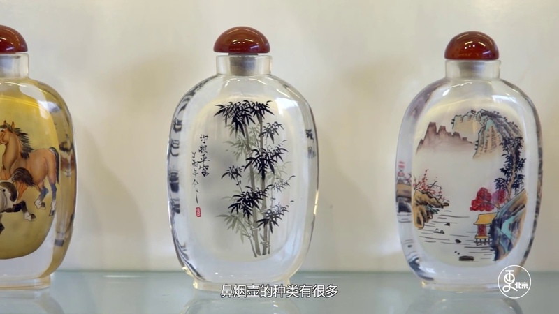 The Painting Inside The Chinese Snuff Bottles - Amazing Craft   More China