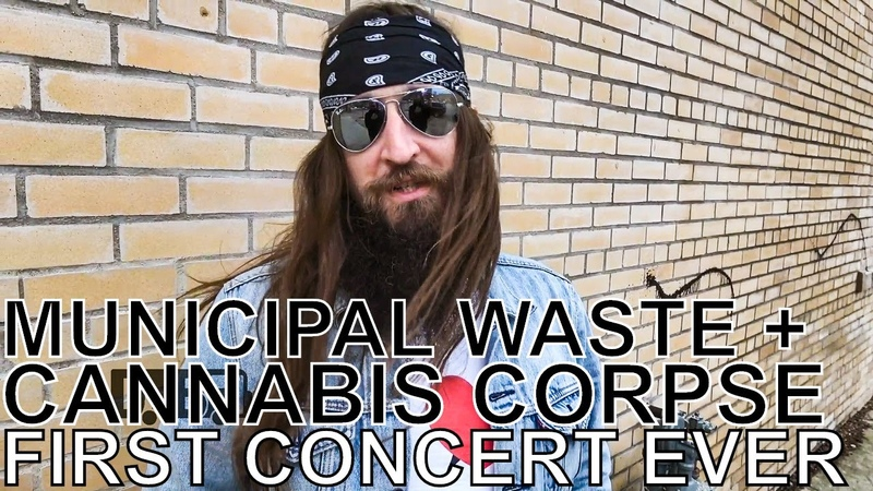 Land Phil (of Municipal Waste Cannabis Corpse) - FIRST CONCERT EVER Ep. 145