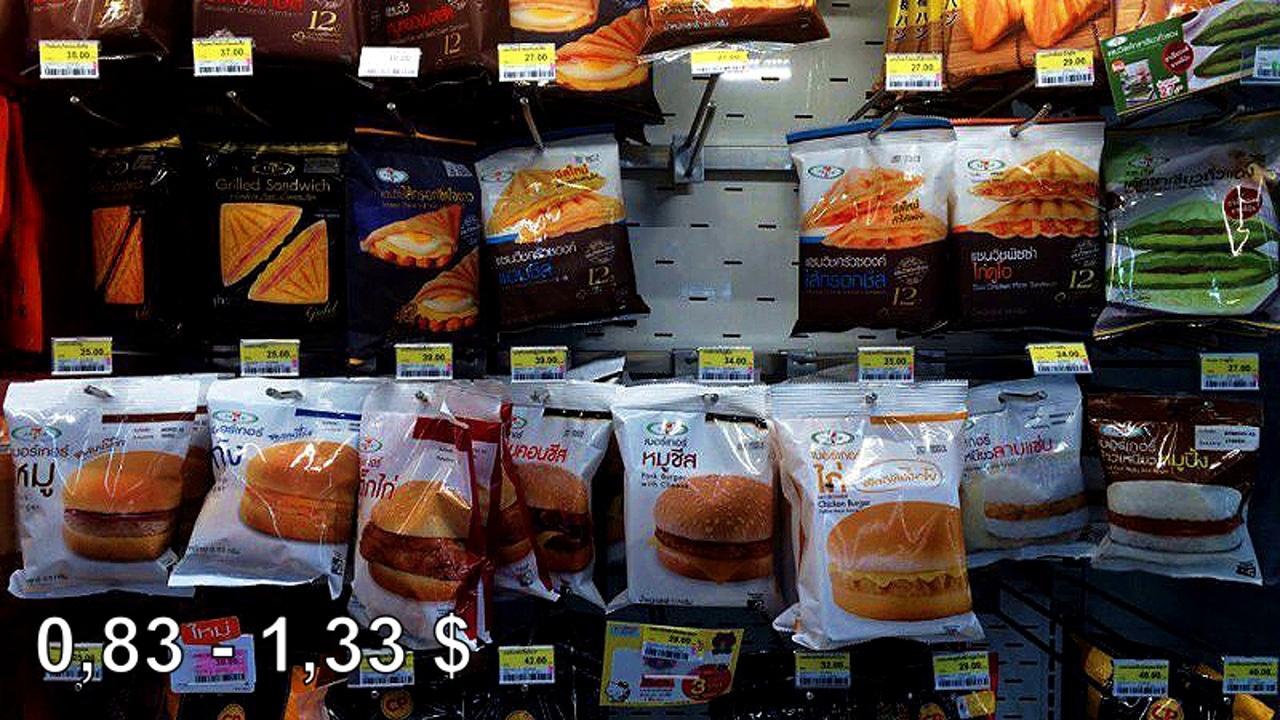 Цены на продукты и еду в Таиланде.  MZSUL7pmOgk