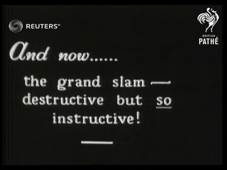 UNITED STATES: American road safety film, graphic portrayal of the dangers of level crossings (1931)