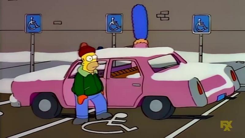 Homero el discapacitado Los Simpson HD