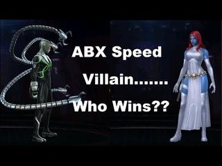 Mystique Speed Villain ABX Comparison