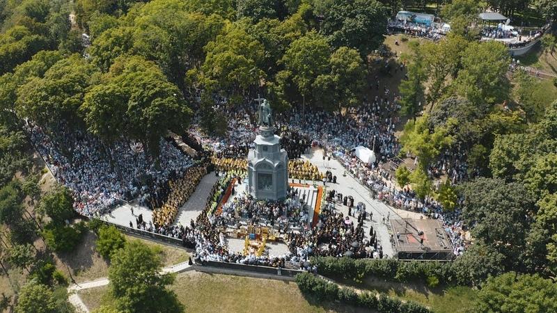 Про що молились сьогодні православні українці - ВІДЕО ДНЯ ХРЕЩЕННЯ РУСІ