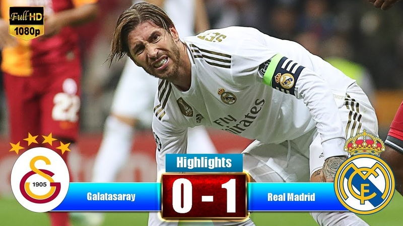 Real Madrid vs Galatasaray Highlights Full Match (1-0) - All Gоals Extеndеd Hіghlіghts - 2019