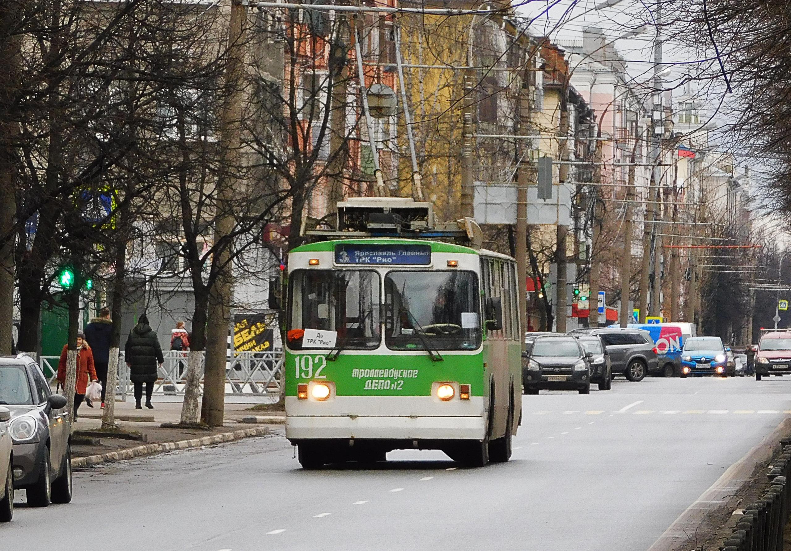 Троллейбус №3к