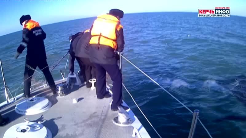 Керченские пограничники предотвратили факт гибели краснокнижных рыб в Азовском море