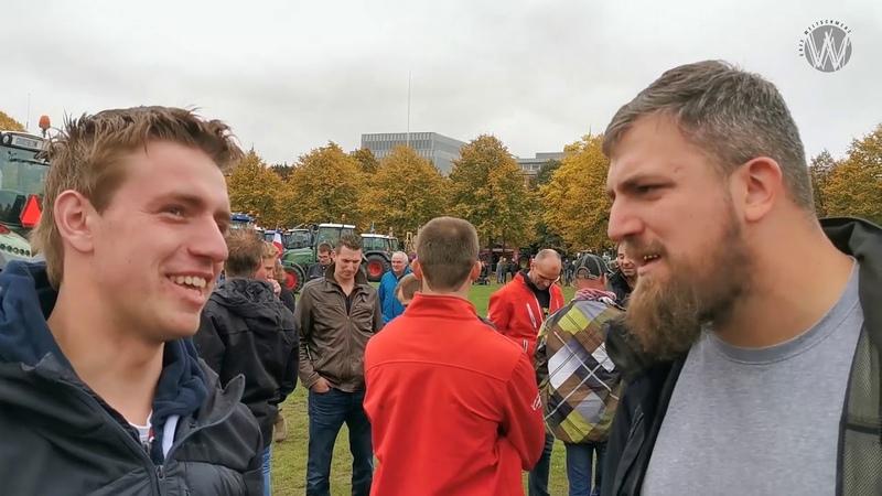 (6908) Dennis Honing op het tweede boerenprotest - YouTube