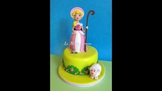 Little Bo Peep Doll Cake Toy Story 4 Birthday Party Cake Decorative Art