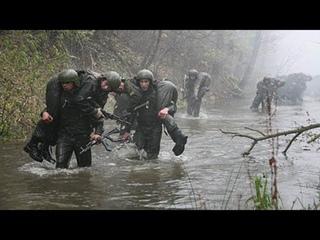 2002 г Тренировка русского спецназа  на право ношения крапового берета