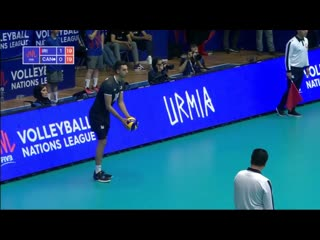 Amazing Volleyball Serves - Volleyball Nations League 2019 (HD)