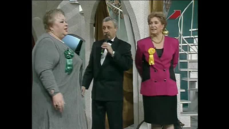 Колесо истории (ОРТ, 08 февраля 1997) Ирина Отиева, Клара Лучко, Наталья Крачковская