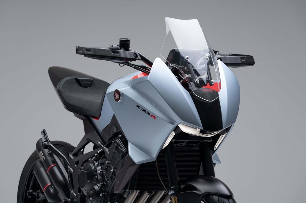 Концепт Honda CB4X