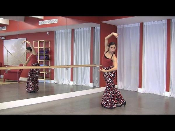 StepFlix Flamenco technique, lesson 15: vuelta quebrada turn part 2