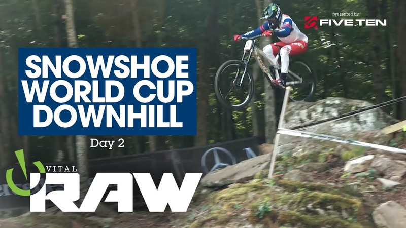 ARE THE ROCKS WINNING Vital RAW Snowshoe West Virginia World Cup DH 2