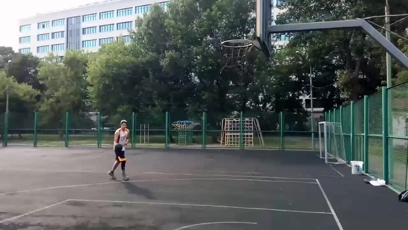 Данк контест Андрея Химченко