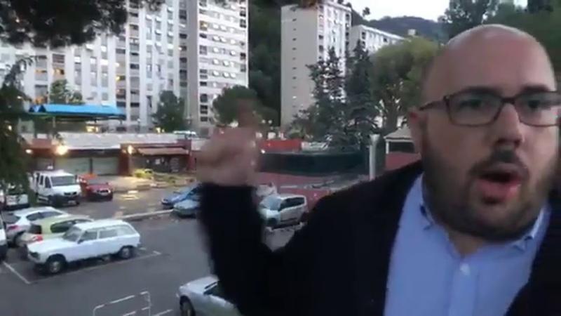 Philippe Vardon L'appel à la prière retentit tous les jours dans ce quartier de Nice