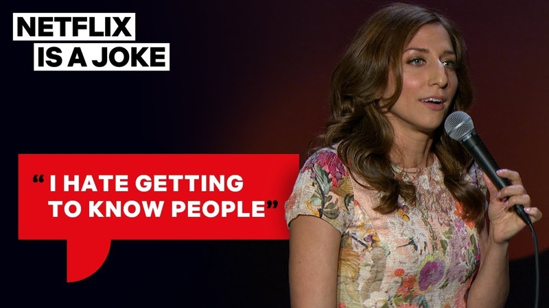 Don t Try to Hug Chelsea Peretti Netflix Is A Joke
