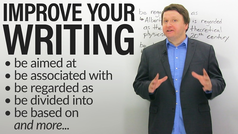 Improve your Academic Writing: PASSIVE PREPOSITIONAL VERBS (also great for IELTS TOEFL!)