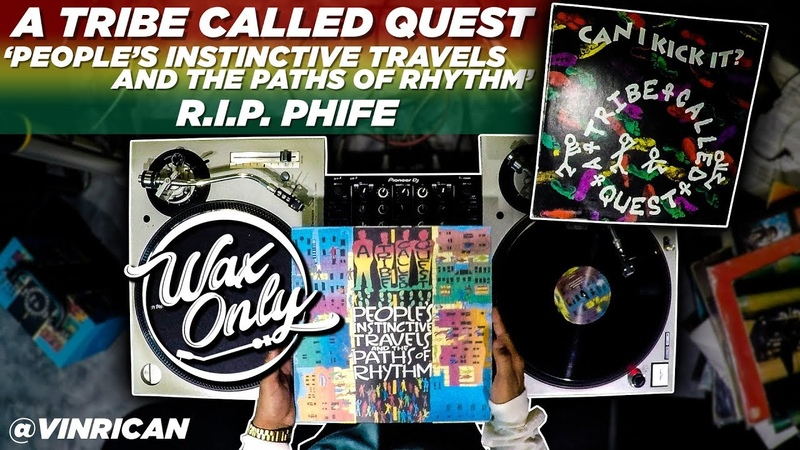 Discover Samples On ATCQ 'People's Instinctive Travels The Paths of Rhythm' WaxOnly