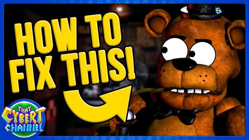 How to Reboot FNAF After FNAF VR Help Wanted 🔴 That Cybert Channel