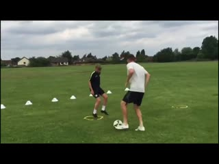 Premier League Academy Baller - 4 1on1 training drill ideas