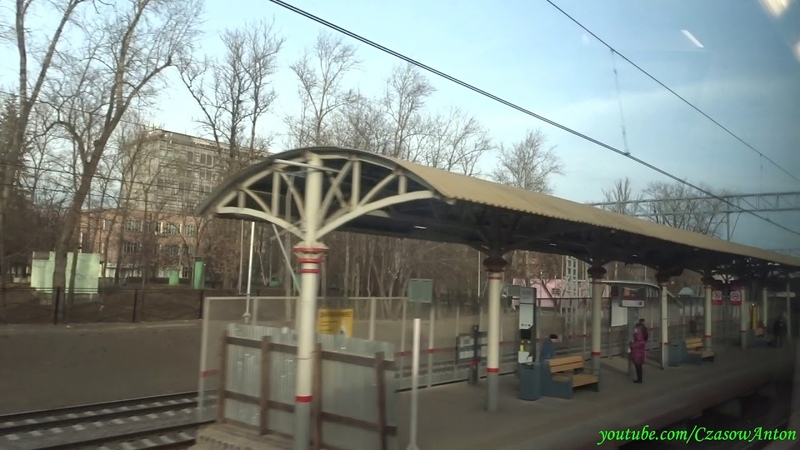 ESz2 Moskiewskie Centralne Średnice (Moskiewska Kolej Miejska), linia D1 / ЭШ2 МЦД, маршрут D1