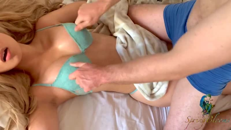 Real doll I want your sperm Tit torture made her