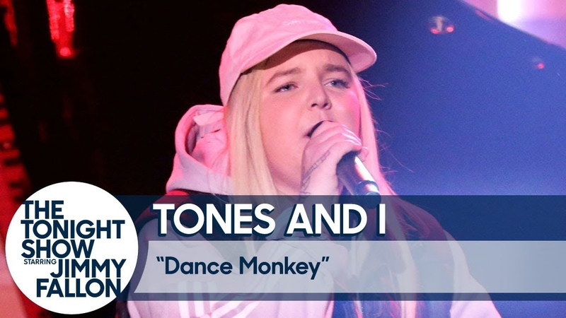 Tones and I Dance Monkey (U.S. TV Debut)